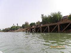 セネガル川の船旅