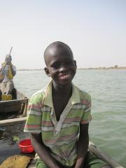 ボート漕ぎの息子