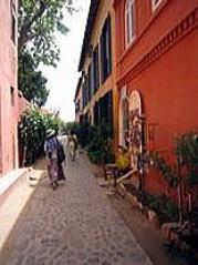 ヨーロッパ調建物の残る町並み